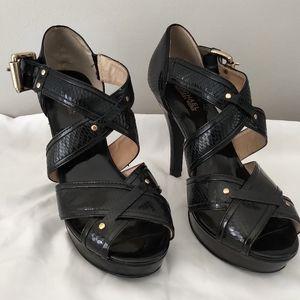 Michael Kors Snake skin Embossed Heels